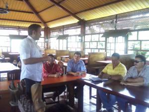 Reunión con Alcalde y Corporación Municipal de Esquipulas, Chiquimula